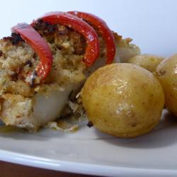 Morue avec pain de maïs (bacalhau com broa), recette portugaise