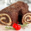 Tronc/bûche de Noël traditionnel