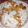 Gâteau-Reine farcie de chila et de la cannelle