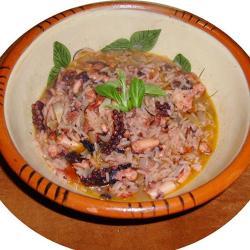Riz de Pouple, recette portugaise de la région de l'Algarve
