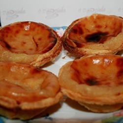 Pastels de Nata de Châtaignes