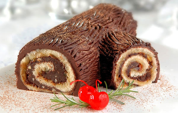 Tronc de Noël, Gâteau Traditionnel