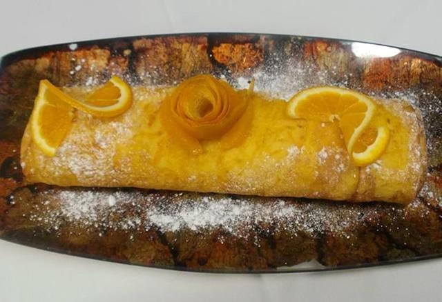 Roulé à l´Orange Traditionnel (Torta de Laranja)