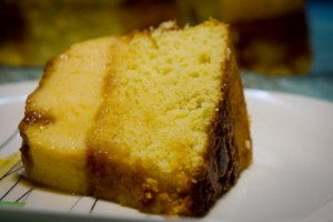 Gâteau-pudding