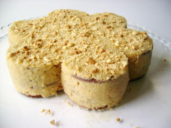 Gâteau aux Biscuits Maria (Bolo de bolacha)