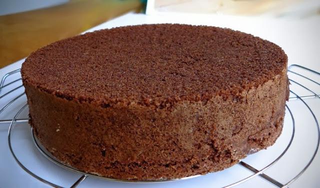 Pão-de-ló (Génoise) au Chocolat