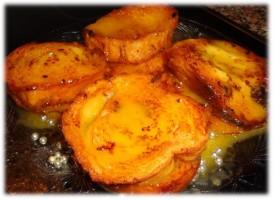 Rabanadas (Pain Doré) avec crème d´oeufs
