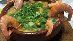 Açorda aux fruits de mer (recette fait à la maison)