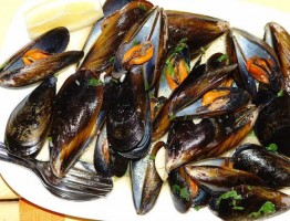 Mussels à Bulhão Pato