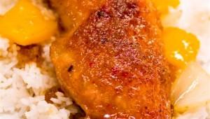 Poulet au miel et orange