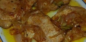 Fièvres de Porc à la portugaise (Bifanas)