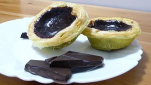 Pasteis de Nata au chocolat