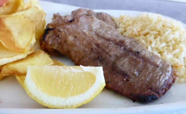 Secrets de porc noir grillés