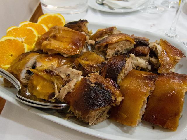Cochon de lait rôti à Bairrada