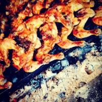 Poulet grillé sur la braise à la portugaise