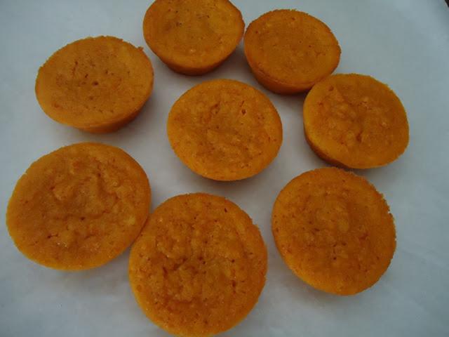 Queijadas de carotte