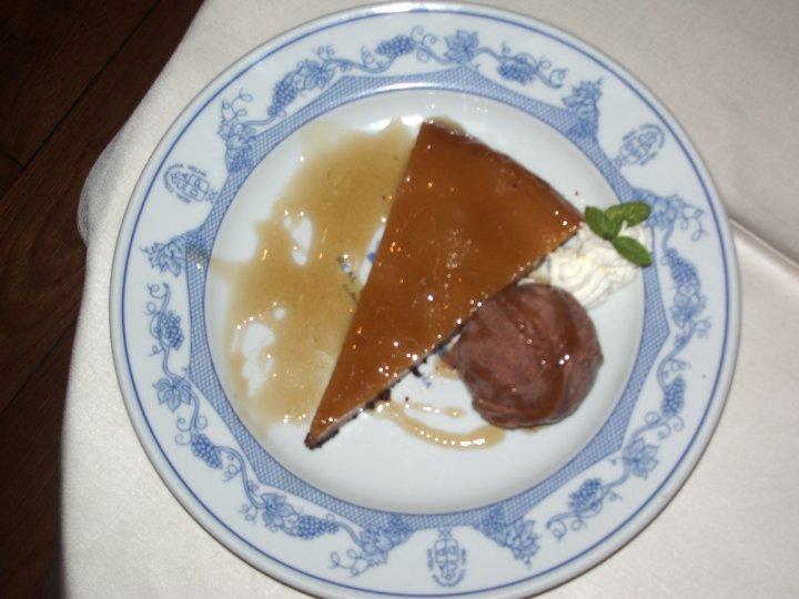 Pudding d'huile d'olive et miel