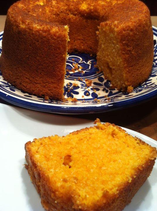 Gâteau de potiron et noix de coco