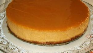 Cheesecake au caramel