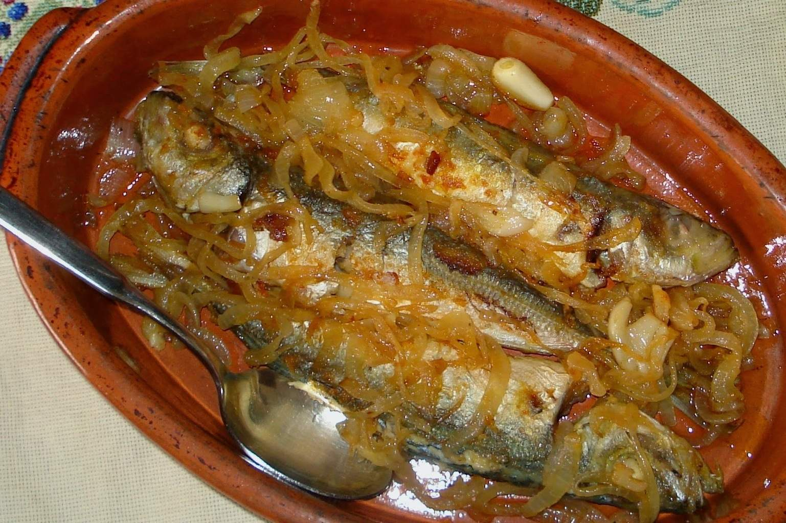 Chinchards en sauce d'escabeche