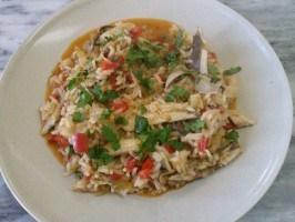 Riz de sardines (Fhoto: UNISOB)
