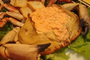 Crabe farci