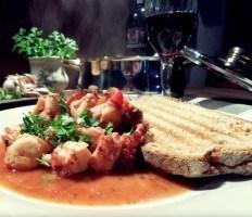 Ragoût de poulpe au vin du Porto