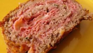 Rouleau de viande farcie au fromage et jambon