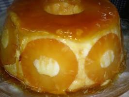 Pudding d'ananas